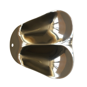 stainless steel spoon rest double spoon