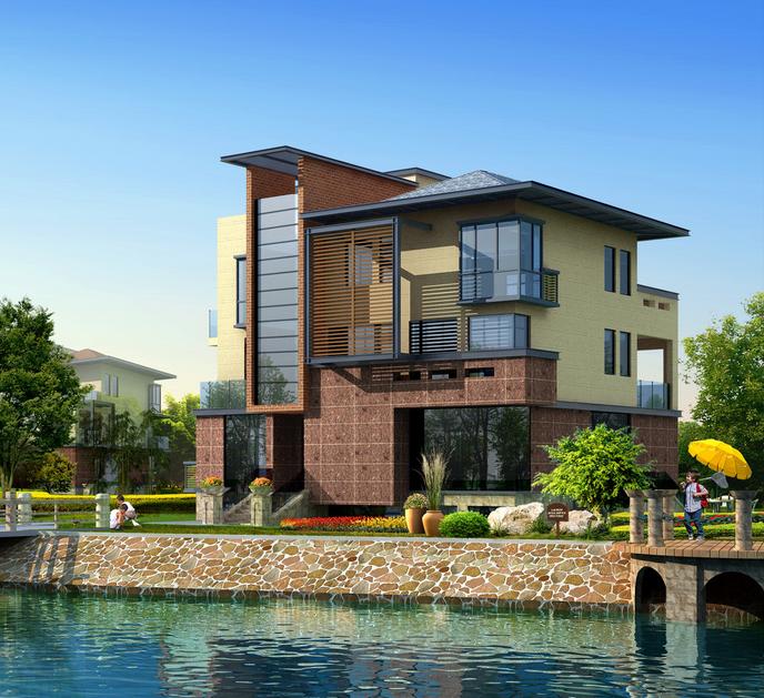 Extrem China Licht Stahl Struktur Fertighaus Häuser mit Pool Hersteller LA85