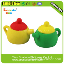 Soododo teaport custom pencil eraser