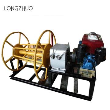 Diesel Engine Powered Winch For Cable Pulling