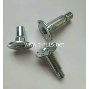 Steel Stamped Zinc Plated High Neck Pallet Nuts