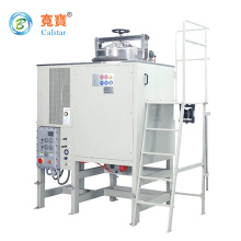 Solvent recovery machines and printing