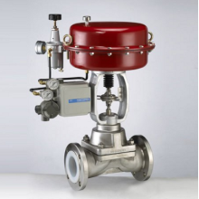 Maintenance-free Electric Single-seat Adjusting Valve