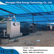 Waste Plastic Processing to Fuel Oil Equipment
