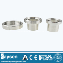 DS Sanitary unions long male pipe fittings