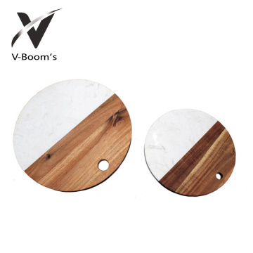 Best Quality for Marble And Wood Cheese Board Europe Design Marble Cutting Board export to Algeria Factories