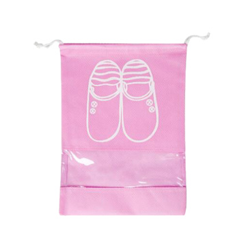 Custom Logo Non Woven Easy Taking Drawstring Shoe Dust Bag