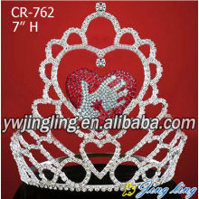 Wholesale Custom Large Pageant Crowns For Sale