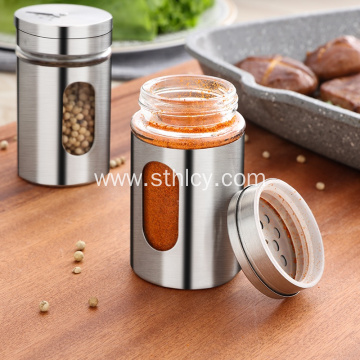 Creative Design Kitchen Stainless Steel Seasoning Bottle