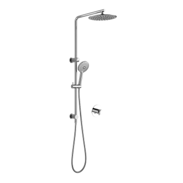 7MM Thickness Stainless Steel Rain Shower Set