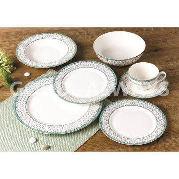 New bone china Gold tableware set