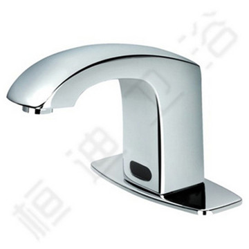 Brass Touch Free Faucet Inductive Wash Basin Faucet