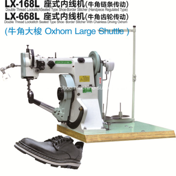 Inseam Shoe Sole Stitching Machine