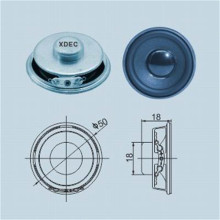 Reliable for Mini Lamp Speaker 50mm 4 ohm 3W Multimedia Electric Train Speaker supply to Faroe Islands Manufacturer