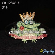Custom Frog Pageant Crowns