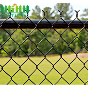 Hot Dipped Galvanized Chain Link Fence Of Factory