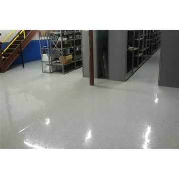 Orange peel wrinkle epoxy anti-slip floor