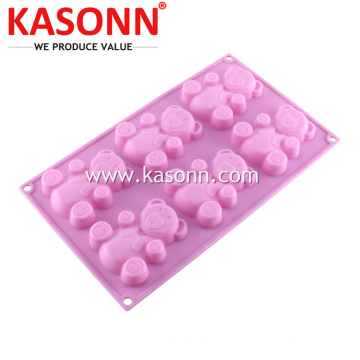 Medium Bear Silicone Silicone Bread Cookie Pan