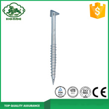 Galvanized Steel Solar Mounting Foundation Ground Screw