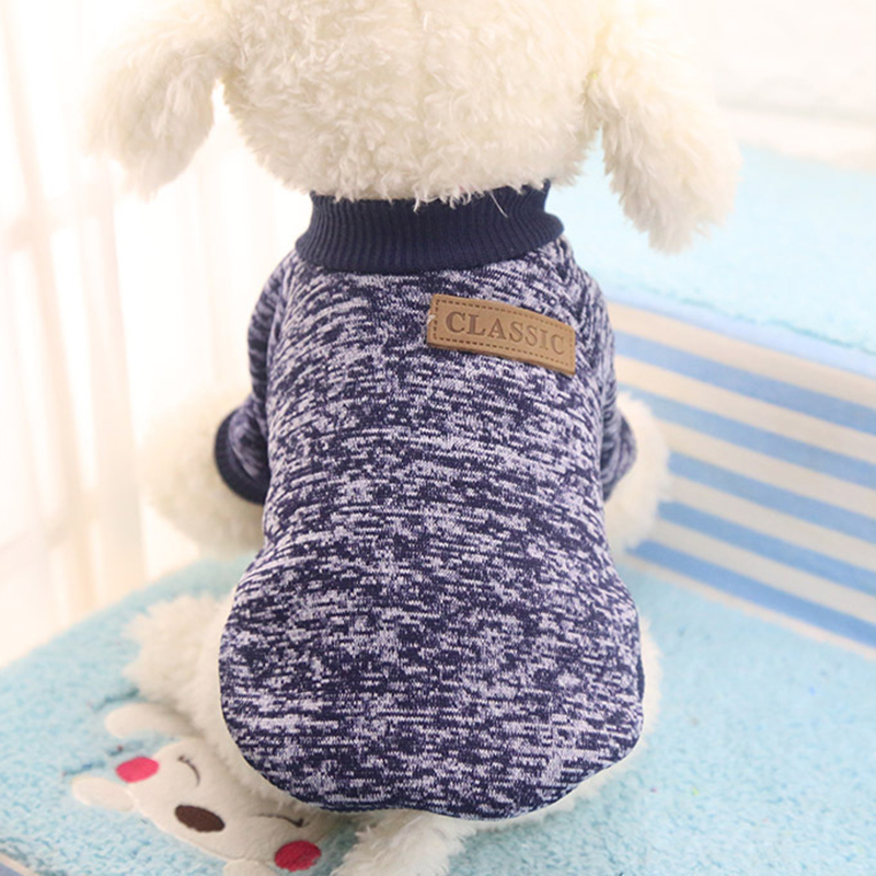 Dog Clothes For Small Dogs Soft Pet Dog Sweater Clothing For Dog Summer Chihuahua Clothes Classic 2