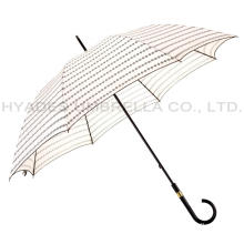 Personlized Products for Different Types Of Umbrellas Ladies Manual Open Straight Umbrella With Pico Lace supply to Comoros Factories
