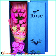 10 Years for Beautiful Flower Boxes Die-cutting Cardboard Flower Box Box For Rose export to Denmark Factory