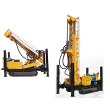 DTH Multifunctional portable 600m Water well drill rig