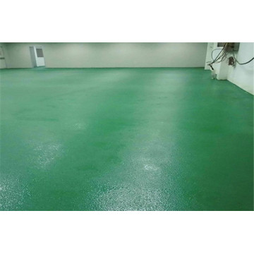 Epoxy orange peel slip floor
