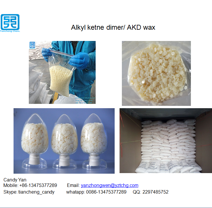 Neutral alkaline Sizing Agent AKD wax