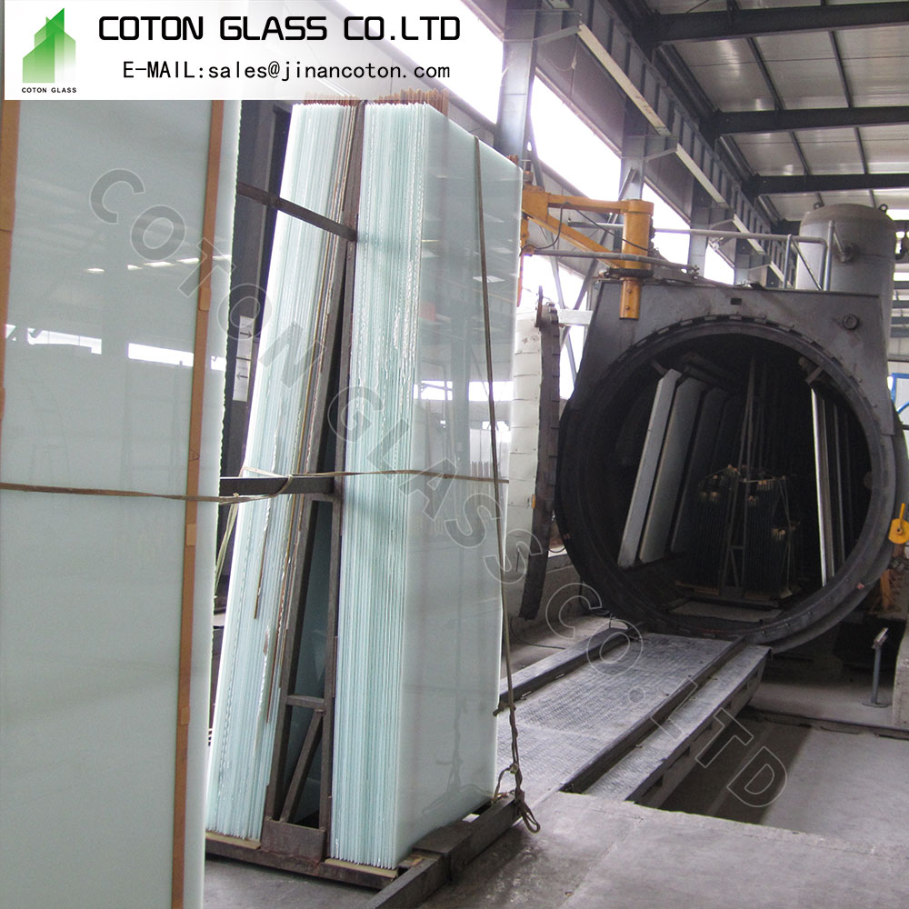 White Laminate Glass