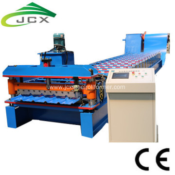 Box profile roof roll forming machine