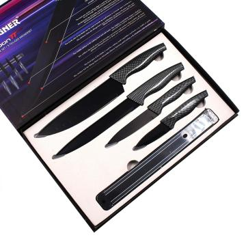 5pcs Stainless Steel Knife Set gife packing