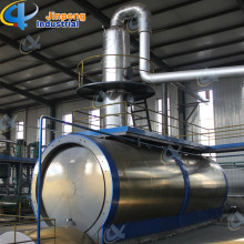 China for  Sync Gas Recycled Waste Plastic Oil Distillation Plant export to Angola Importers