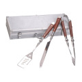 luxury 3pcs bbq tool set