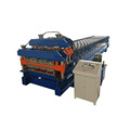 Hydraulic Two Cutter Double Layer Roll Forming Machine