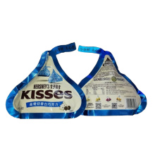 Customized Shaped Chocolate Stand Up Pouch