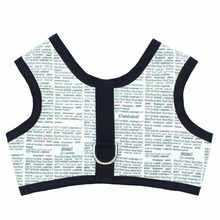 Seaside dog newpaper vest