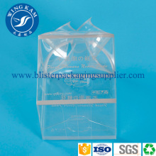 Purchasing for Triangle Foldable Boxes Packaging Large Transparent Clear PET Plastic Packaging supply to Iceland Supplier