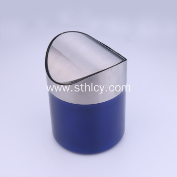 Mini Desktop Stainless Steel Trash Can