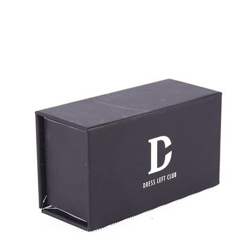 Black Empty Mobile Phone Packing Box With Magnet