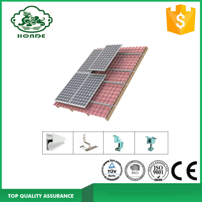 Roof Tile System Aluminum Material Rail