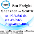 Shenzhen shipping services to Seattle