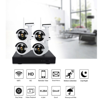 Ang home security camera system wireless 1080P
