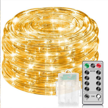 Remote Control Warm White Rope Lights