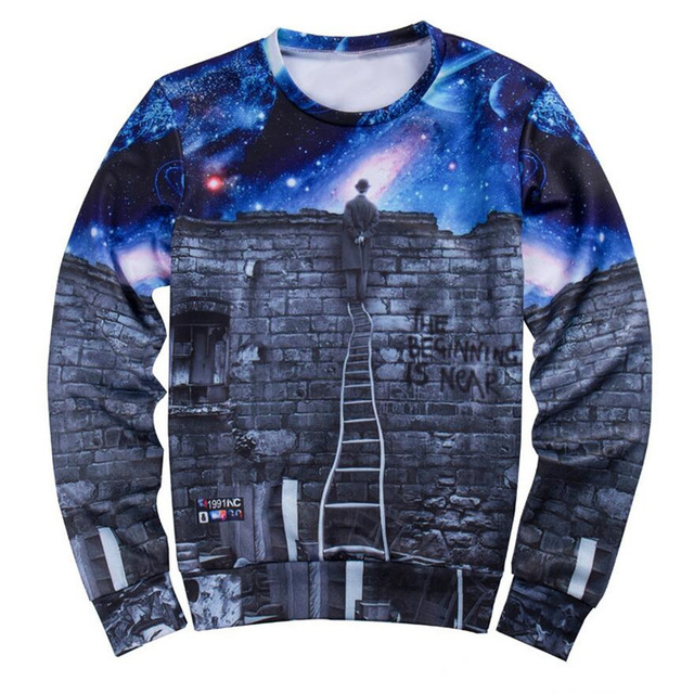 Custom sublimaiton crewneck sweatshirt for men