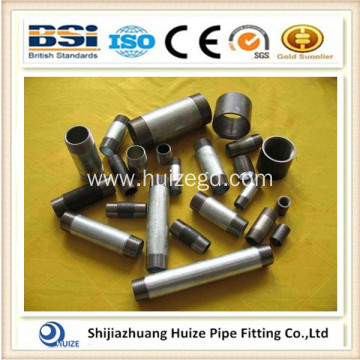 GALV SCH40 THREADED PIPE NIPPLE