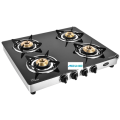 Astra SS 4 Burner Glass Cooktop
