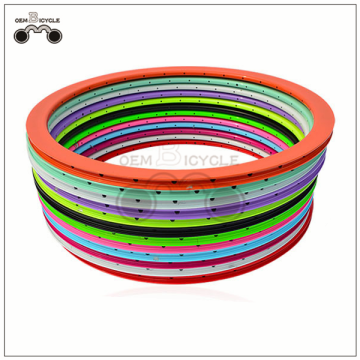 Fixed Gear bike rim with 40 mm 32 holes three layers Aluminum alloy bicycle rim