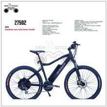 Gearless rear hub motor electric e-bike