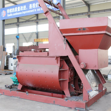 Double shaft self electrical motor concrete mixers